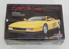 Monogram Ferrari Testarossa Exotic Car Series SEALED R9776