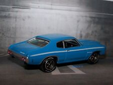 1971 71 CHEVY HEAVY CHEVY CHEVELLE 1/64 SCALE DIECAST COLLECTIBLE MODEL DIORAMA