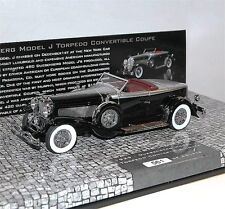Minichamps, Duesenberg Model J Convertible Coupe, 1929, black/silver, 1/43