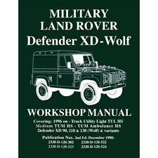 Land Rover Defender XD - Wolf 90 110 130 Werkstatthandbuch LRMWW NEU