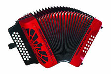 Hohner Compadre EAD MI Accordion COER Acordeon Red +Bag,Shirt,BackPad WorldShip!