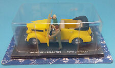 VEHICLE BLAKE ET MORTIMER Ford Cabriolet 1/43 COMICS cars no tintin