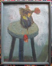 Altes   Ölbild Gemälde Impressionist  Frankreich
