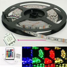 5M-5050-RBG-LED-Light-Strips-300-leds-12v-Non-waterproof String Lights-Fairy