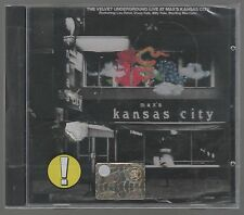 VELVET UNDERGROUND LIVE AT MAX'S KANSAS CITY  CD F.C. SEALED!!!