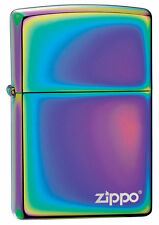 Zippo Windproof Spectrum Lighter With Laser Engraved Logo, 151ZL, New In Box