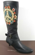 $850 ISABELLA FIORE PEACE OUT MURIEL BOOTS SHOES 7M NWOB LAST PAIR!