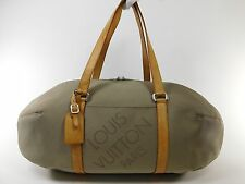 Louis Vuitton Geant Damier Attaquant Keepall Duffle Bag Soccer Travel Gym T5282