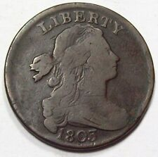 1803 DRAPED BUST Large CENT ~Nice ORIGINAL FINE ++/ VF ~ Early U.S. Coin