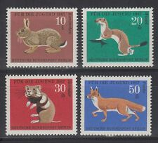 Germany Berlin 1967 ** Mi.299/302 Tiere Pelztiere | Fur-Bearing Animals