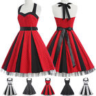 NEW 50'S Vintage Pinup SWING Party HOUSEWIFE Cocktail Prom TEA Dress