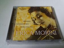 """ERICA MORINI """"BRAHMS TCHAIKOVSKY VIOLIN CONCERTOS"""" CD 6 TRACKS COMO NUEVO"""