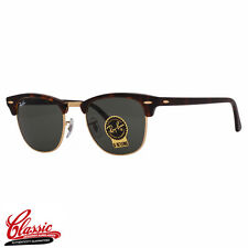 RAY-BAN ORIGINAL CLUBMASTER SUNGLASSES RB3016 W0366 Tortoise Frame 51MM