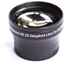 NEW PRO HD 2x TELEPHOTO FOR LENS CANON HF M30 M31 M32