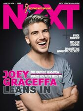 NeXT Magazine Gay Pride Preview Daddy Tips Peter Thiel Joey Graceffa JUNE 2016