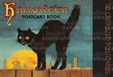 Halloween Postcard Book (2003, Paperback)