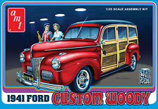 AMT 1941 Ford Woody Custom model kit 1/25