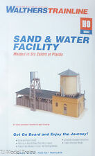 Walthers HO #931-907 Sand & Water Facility (Building Kit) Plastic Kit
