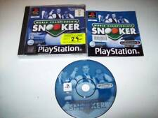 "World Championship Snooker Great Game For PS1-2  ""Rare"""