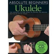 Absolute Beginners Ukulele (Book WITHOUT CD) NEW