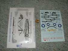 Superscale decals 1/48 48-929 P-51D Mustangs 353FS 354th 2nd FS ACG  F88