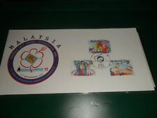 Malaysia 1992 stamp exihibition ( visit malaysia year ) fdc