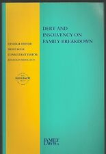 Debt and Insolvency on Family Breakdown by Wendy Boyce