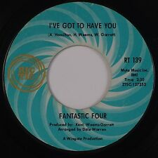 FANTASTIC FOUR: Win Or Lose / I've Got To Have You RIC TIC Soul 45 Hear
