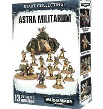 START COLLECTING! ASTRA MILITARUM Box Games Workshop Warhammer 40K=Lo Cost+FAST!