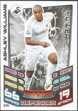 TOPPS MATCH ATTAX 2012-13- #274-SWANSEA CITY-ASHLEY WILLIAMS