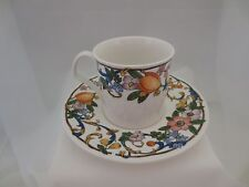 Mikasa MAGICAL MEADOW Ultra Cream Cup & Saucer #DX001 c1994 Floral