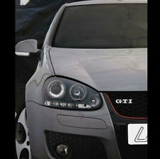 VW GOLF MK5 04-09 BLACK Halo ANGEL EYE Proiettore + LED ANTERIORE FARI LUCI