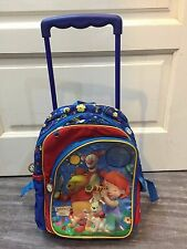 Used kid's trolley bag by DISNEY tigger & pooh compliment with abacus&stationery