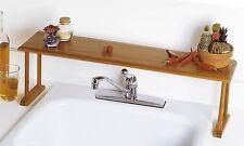 The Sink Shelf Saver Kitchen Bathroom Storage Bamboo Over Organizer The Sink