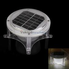 Waterproof Solar LED Piling Light Fence Post Pillar Courtyard Auto Lamp Lights