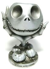 NECA NIGHTMARE BEFORE CHRISTMAS JACK  HEAD IN HAND RESIN CANDLE HOLDER 32993