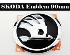 SKODA Genuine Vorne Emblem Badge Kühlergrill 90 mm - OCTAVIA, RAPID, YETI, FABIA