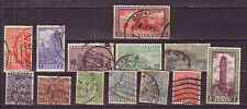 Indian-13 Diff. Used Good Condition Set of Archaeological Stamps #IA01