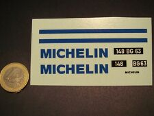 DECALS 1/18 MICHELIN  POUR CITRÖEN 2CV - T362