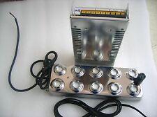 Ultrasonic mist maker fogger 10 head humidifier & transformer 110V  220V
