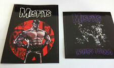 THE MISFITS 2-Pack of Stickers Cartoon & Wolfs Blood NEW OFFICIAL MERCH Danzig