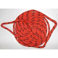 3/8 Inch x 15 Ft Red Double Braid MFP Mooring and Docking Line for Boats