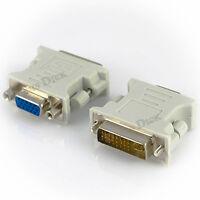 DVI zu VGA Adapter Digital auf Analog DVI-I PC TFT Beamer Buchse Stecker 24+5