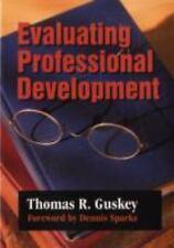Evaluating Professional Development (1-Off Series), Guskey, Thomas R., Acceptabl