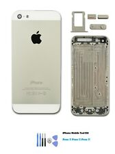 NEW COLLECTION  iPhone 5s Silver Replacement HOUSING BACK COVER CASE + TOOL KIT