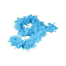Teal Feather Boas (12 Pack) 6', 60 grams Party Costume Feather Boa 1 Dozen