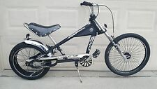 Schwinn Stingray Bike OCC Chopper Skull Black 20""