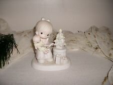"""Precious Moments ~""""Tell Me The Story Of Jesus"""",~E-2349'Excellent-Adorable~Signed"""