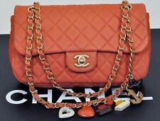 Chanel Classic Quilted Lambskin Valentine Flap Bag Handbag Purse NEW Gold HW
