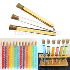 50 x 20ml Plastic Test Tubes With Corks Wedding Favours Party Candy 150 x 16mm